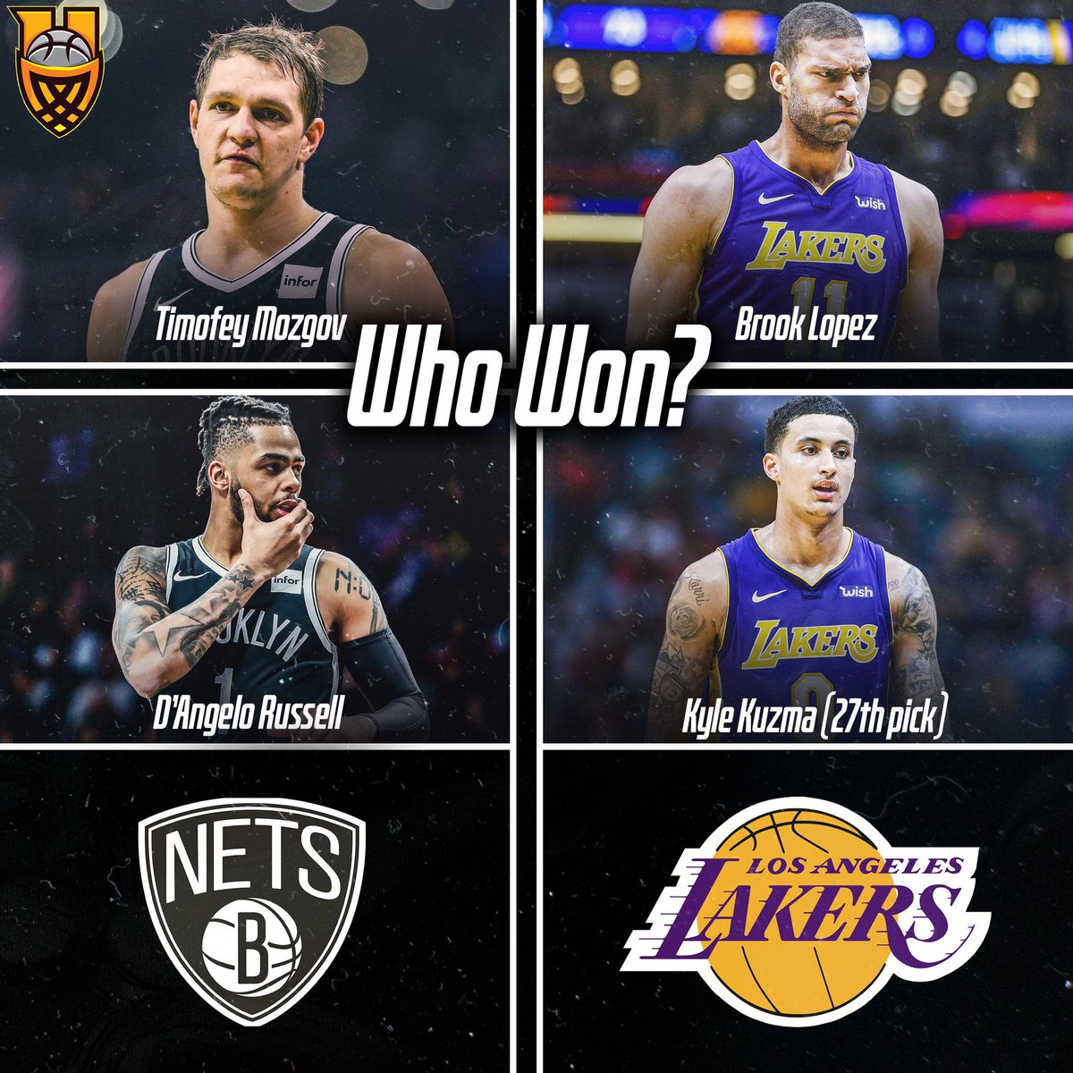 Who do you think won the Lakers/Nets trade? ➖➖➖ Reply or Quote.