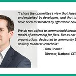 Image for the Tweet beginning: Ban the flaws with leasehold,
