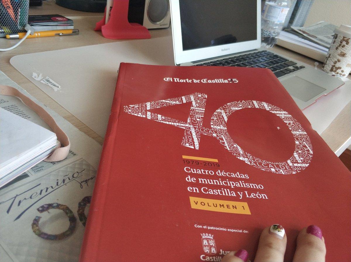 Hoy toca repasar #40añosmunicipalismo con el suplemento especial de @nortecastilla 📢📢📢 #periodismo #trabajos #proyectos #equipoBu5 #comunicar @Aytoburgos #DiputaciondeBurgos #MirandadeEbro @diputacionleon 🗞️🗞️🗞️🗞️
