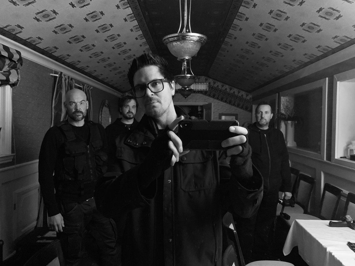 Wednesday March 20th 9:59 pm. Let the lockdown begin #GhostAdventures