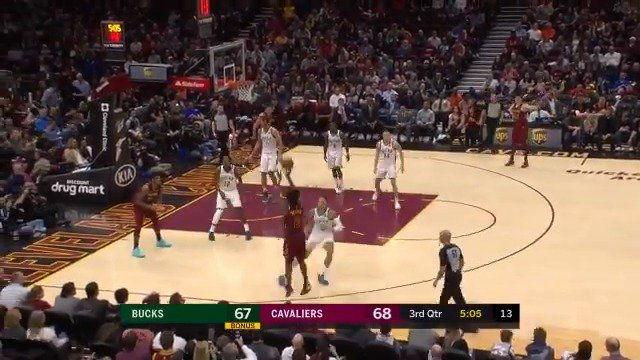 25 PTS from @CollinSexton02 lifts the @cavs over MIL in Cleveland! #NBARooks #BeTheFight https://t.co/fXhtN2VrlM