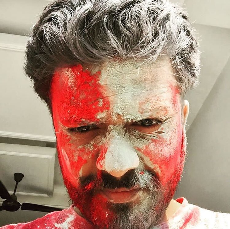 Happy Holi everyone, leave we dogs alone now🍻