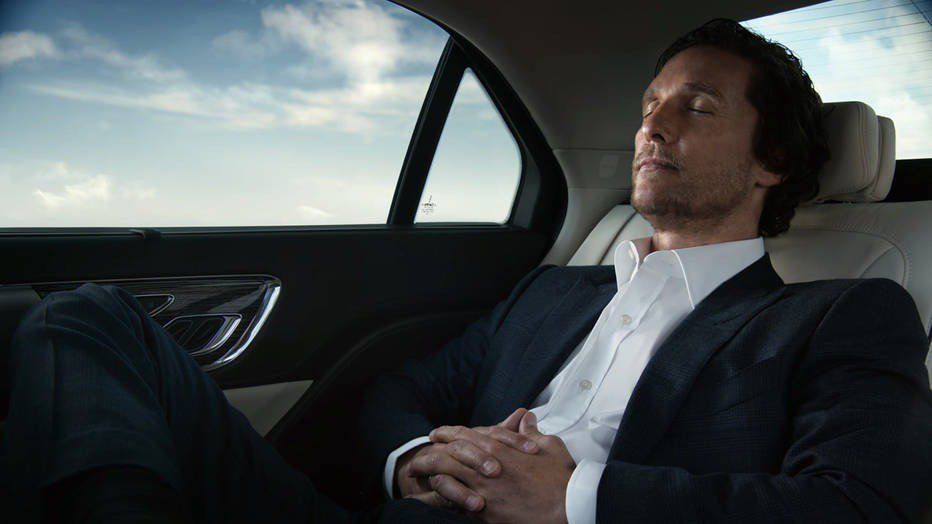 I can't stand any more commercials of Matthew McConaughey having sex with his Lincoln