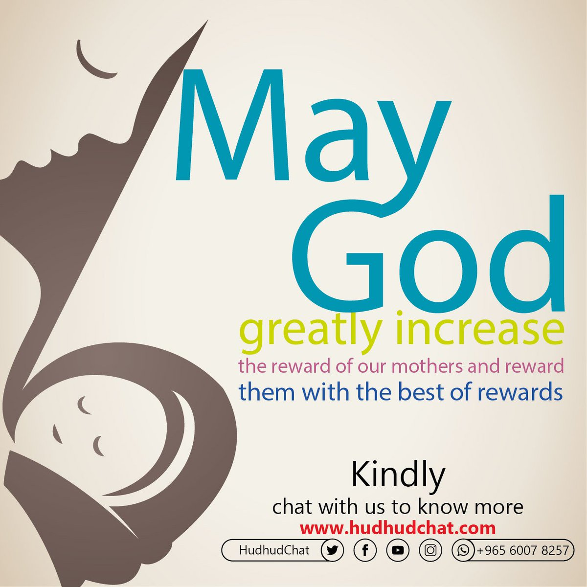 May #God greatly increase the reward of our #mothers and #reward them with the #best of rewards.  Kindly, chat with us to know more:    http:// hudhudchat.com       #HonorYourMother #Hudhudchat #StrangerThings3<br>http://pic.twitter.com/6jyEDCwBCd