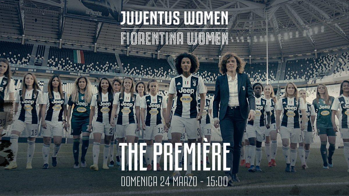 Sarà una «Première» imperdibile all'Allianz Stadium, da vivere tutti insieme con le #JuventusWomen #FinoAllaFine 🏟⚪⚫ 🎟 Avete già il vostro biglietto gratuito per domenica? ➡ http://juve.it/3pYf30o4opS