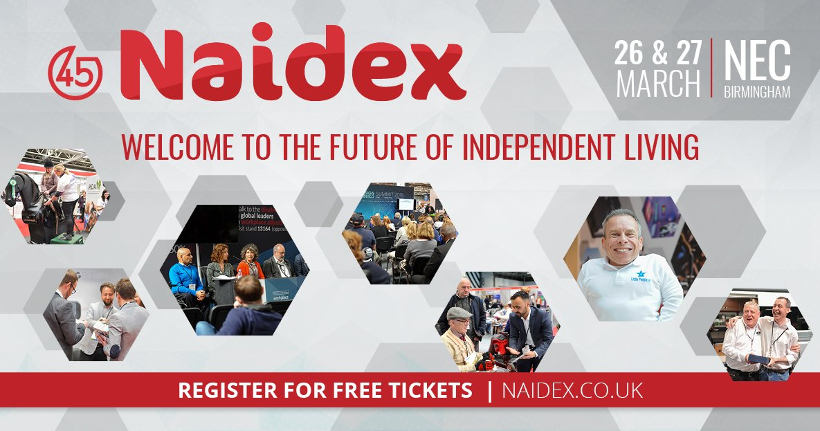 We are at #naidex  next week. If you are involved in  #telecare  #tsa  and want to hear what we are up to in #assistedliving  then DM us.