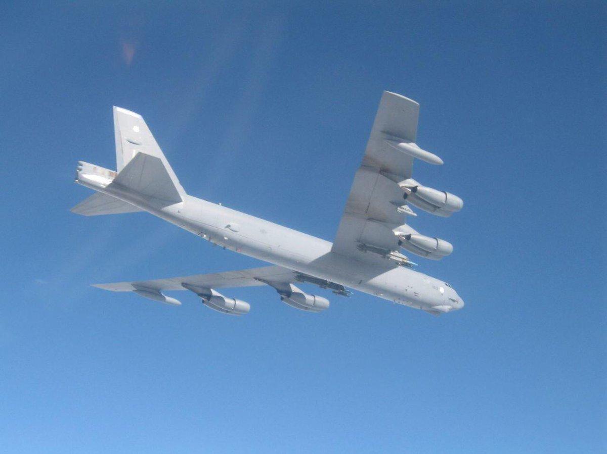 B-52 над Балтикой