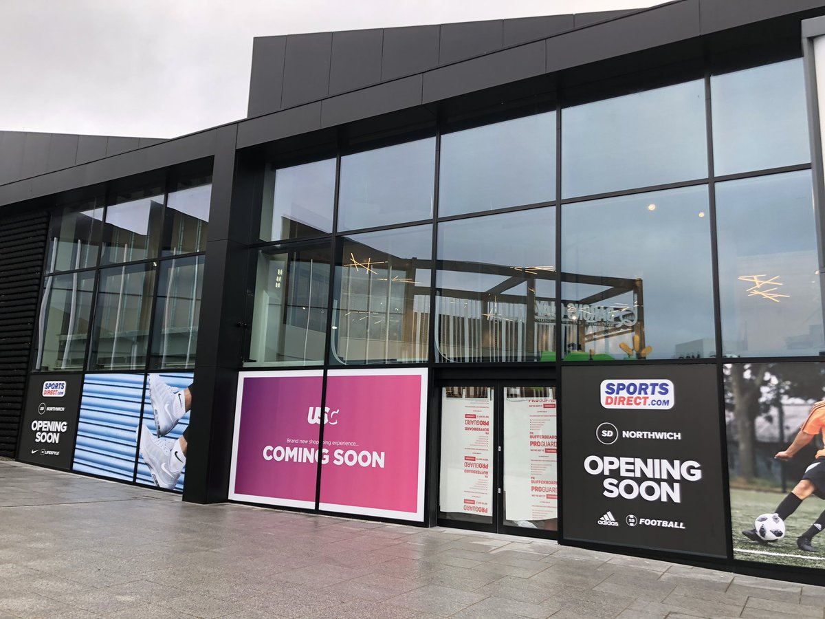 Northwich - Barons Quay. Had a peek inside the new Sports Direct store that is due to open soon in BQ. Looking very impressive. Not long to go now...@barons_quay @brasierfreeth<br>http://pic.twitter.com/nYGNEHQqKu