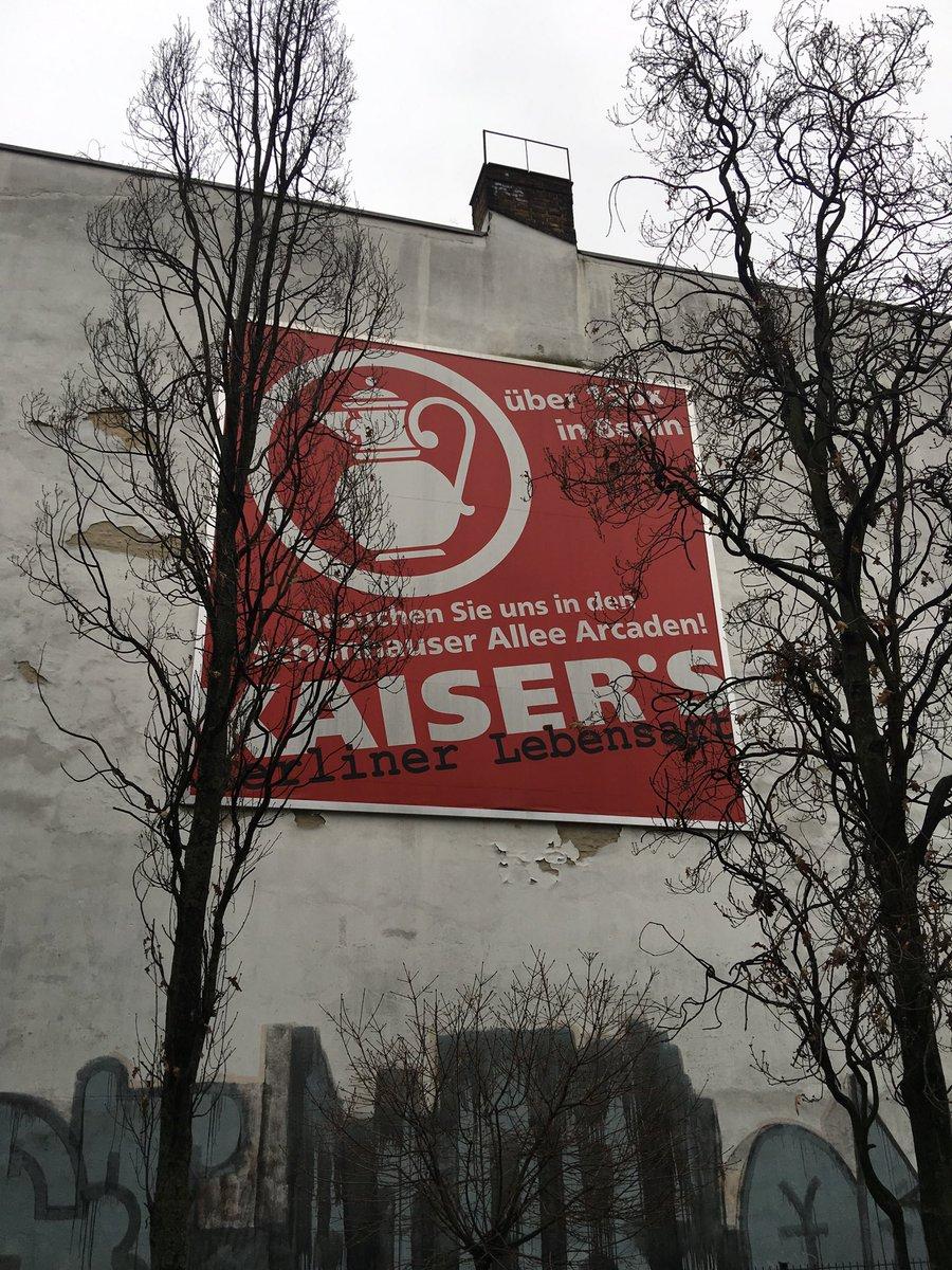 #ThrowbackThursday #kaisers #sign #nofilter #tengelmann #berlin