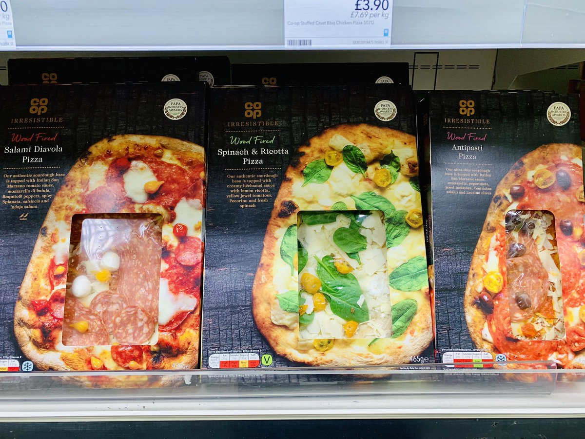 Discover Our New Pizza Range