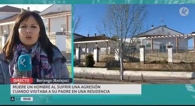 Continúa la conmoción en #Berlanga tras la muerte de un hombre que se encontraba visitando a un familiar en la residencia de ancianos. Según la @guardiacivil, fue agredido por uno de los residentes. Última hora con @Sam_Hgo.  #EXN https://t.co/ify3NzLEyv
