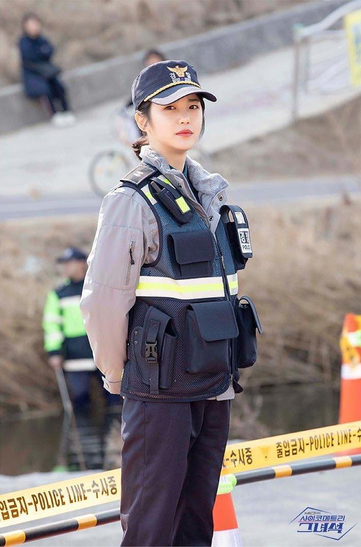 [BEHIND PHOTOS]   Do I look good with Police uniform?  #사이코메트리그녀석 #HeisPsychometric #ThatPsychometricGuy #신예은 #ShinYeeun #윤재인 #YoonJaein <br>http://pic.twitter.com/wzUGIMxKYI