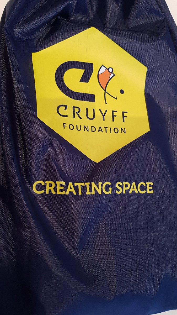 Cursus dagje #cruyff #cruyffcourt #heroes #heroesofthecruyffcourts #pluryn