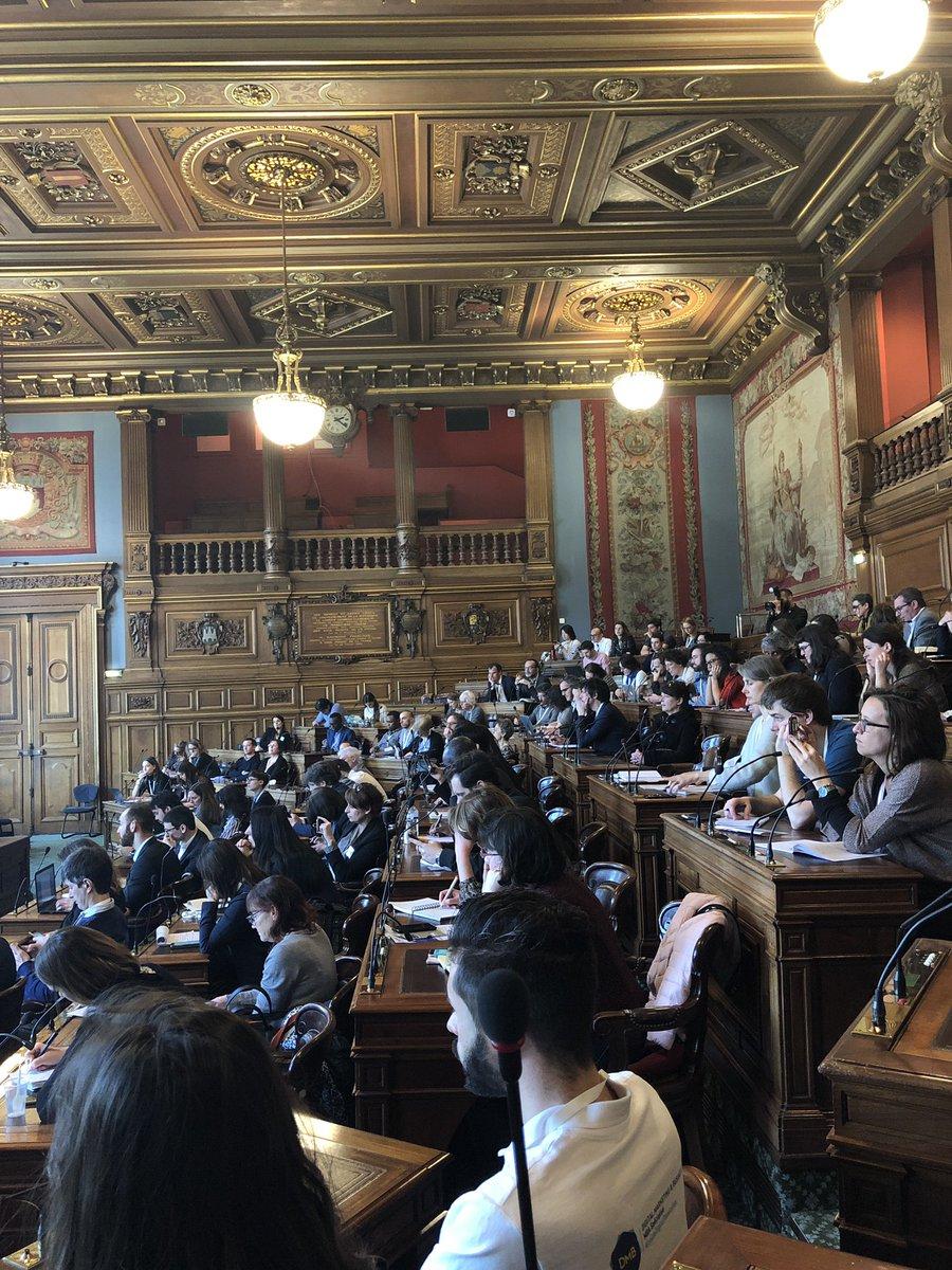 Un workshop très intéressant sur l'intelligence collective ! A creuser 🤗 #MBADMB – at Hôtel de Ville de Paris