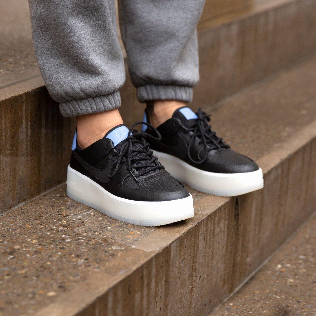 on #sale ❗ Nike Wmns Air Force 1 Sage Low Lx BlackRoyal
