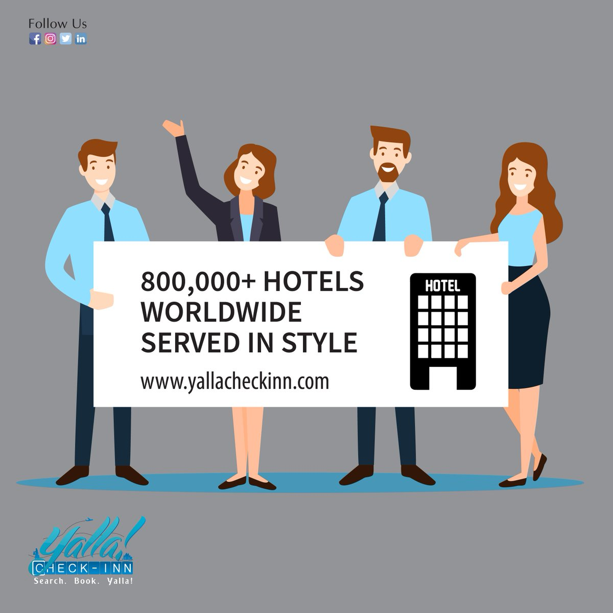 🔍Search over 800,000 #Hotels #Worldwide SEARCH. BOOK. YALLA!  https://t.co/baScaL4E94 https://t.co/siAzGVEKtJ