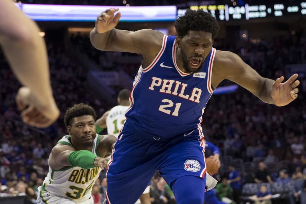 That Sixers-Celtics game was 🔥 and so are @TheAthleticPHI and @TheAthleticBOS  👉@rich_hofmann on the 76ers: https://theathletic.com/880703 👉@JayKing on the C's: https://theathletic.com/880520 👉@moconnor_nba Xs and Os: https://theathletic.com/841984 👉@jackfrank_jjf grades: https://theathletic.com/879979