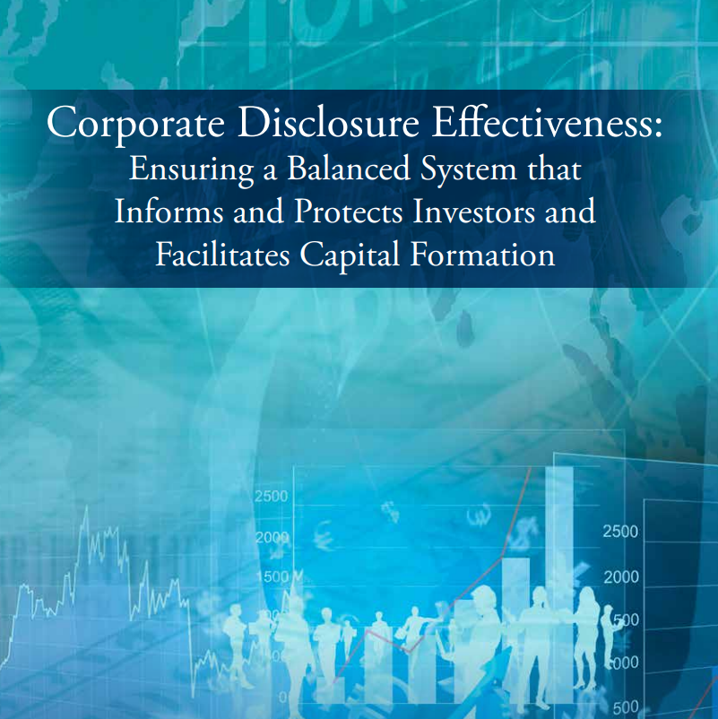 test Twitter Media - .@USChamber @USChamberCCMC applauds @SEC_News for adopting regulations to simplify disclosure requirements for public companies. CCMC has long called for modernization of public company disclosure requirements. Read our report here https://t.co/CRCy5rOV0j https://t.co/phv0WWBWjx