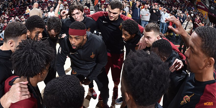 6-2 at home since the All-Star Break.  3 straight wins vs. Eastern Conference playoff teams at The Q.  Our young Cavaliers have quickly become a team to be reckoned with.   #CavsBucks RECAP: http://on.nba.com/2TOb7B2   #BeTheFight