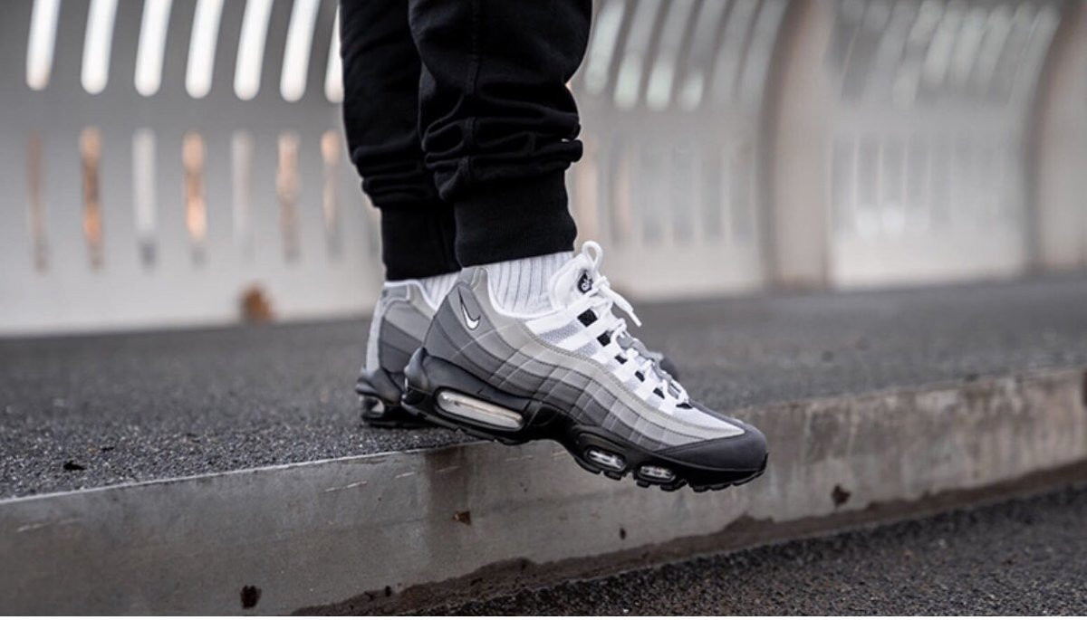buy popular 65a19 97ef0 Cop the Nike Air Max 95 Black White Granite Dust now just £90
