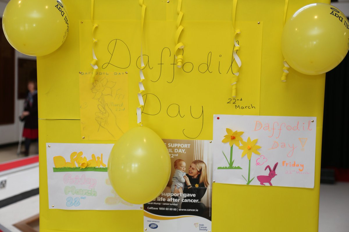 test Twitter Media - Friday 22nd March is #DaffodilDay! TY students will be selling Daffodil pins at the front gate and front door in the morning, during break & after school. Pins cost €3 and all money raised goes directly to the @IrishCancerSoc Please support our students with this initiative! https://t.co/9gtdcS7OSB