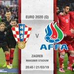 🇭🇷🇦🇿 💪 Good luck to the #Vatreni! 🔥  #BeProud #Croatia #CROAZE