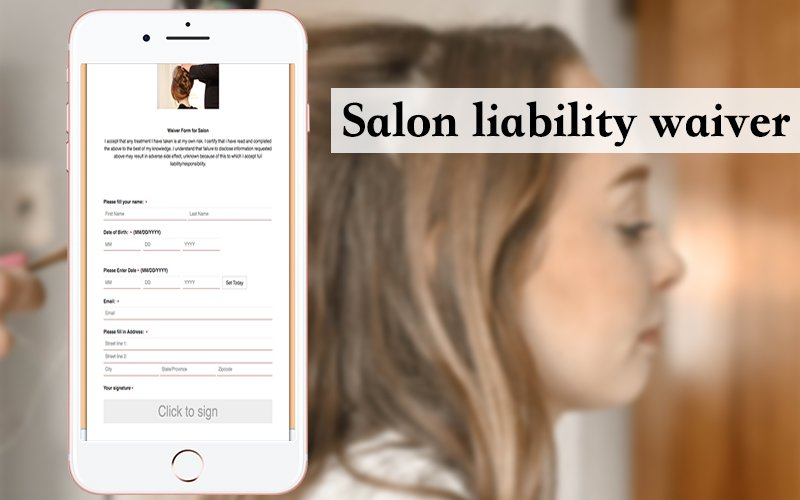 This waiver signing app can be used for salon business. #WaiverSoftware #WaiverAppForIPad #WaiverKiosk #FreeOnlineWaiverSigning #DigitalWaiverKiosk #ElectronicSignatureWaiverRelease #OnlineReleaseForm #ReleaseOfLiabilityFormOnline #WaiverSigningApp https://www.cleverwaiver.com/?ftwitter