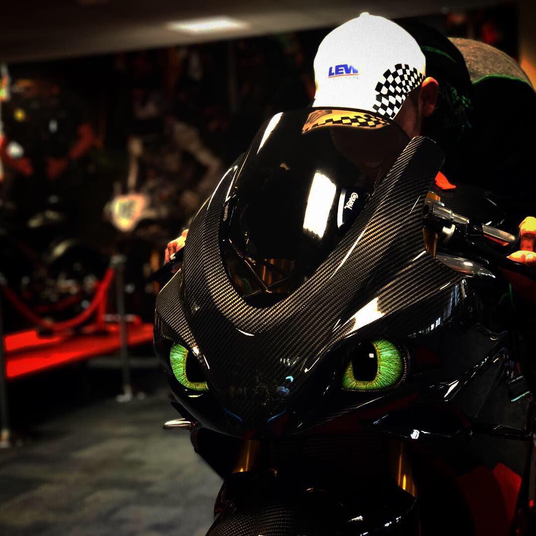 Omg. My bike is #Toothless 😍