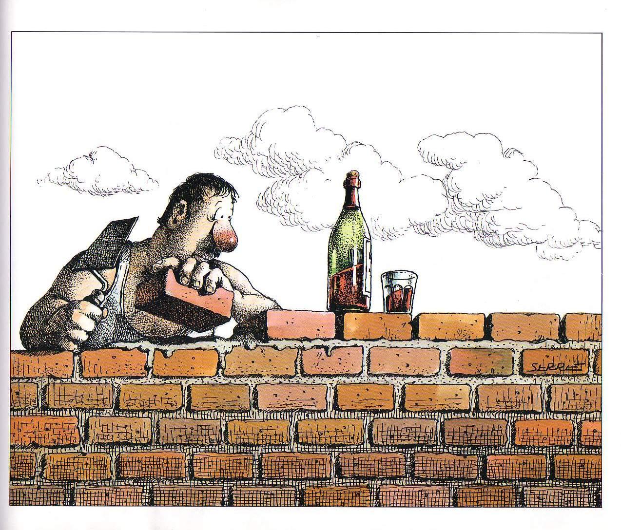 Прикольные картинки на тему строителей, байки картинки