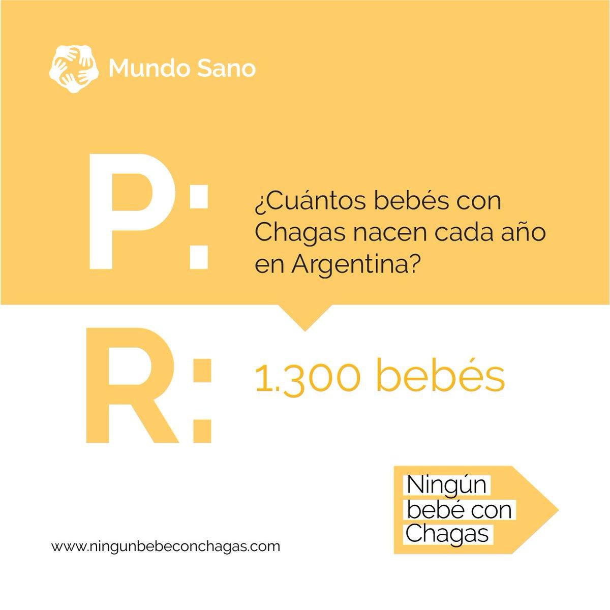 #NingúnBebéConChagas Con diagnóstico y tratamiento no sólo se puede controlar y prevenir la enfermedad de #Chagas, sino que se puede eliminar la transmisión materno infantil.  Adherí a nuestro compromiso en http://www.ningunbebeconchagas.com