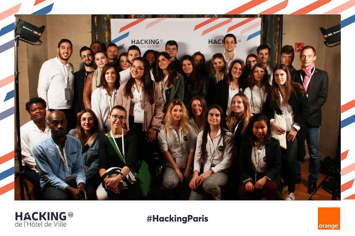 👉 Rendez-vous sur le compte @Paris_and_Co pour suivre les étudiants du @MBADMB (#MBADMB) de l'EFAP, #socialmedia reporters du #HackingParis !