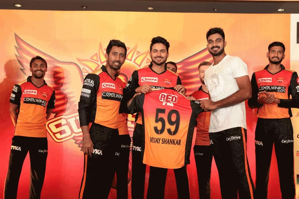 Back to @SunRisers 🌤️Looking forward for this season👊#OrangeArmy #IPL2019 #SRHDiaries2019 #VS59