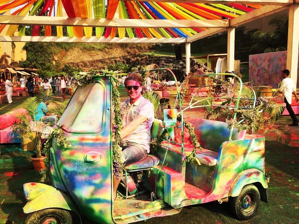 Stay colorful, stay happy !  Happy Holi everyone 🌈😎🎈  #happyholi #tbt #holi #india #holifestival
