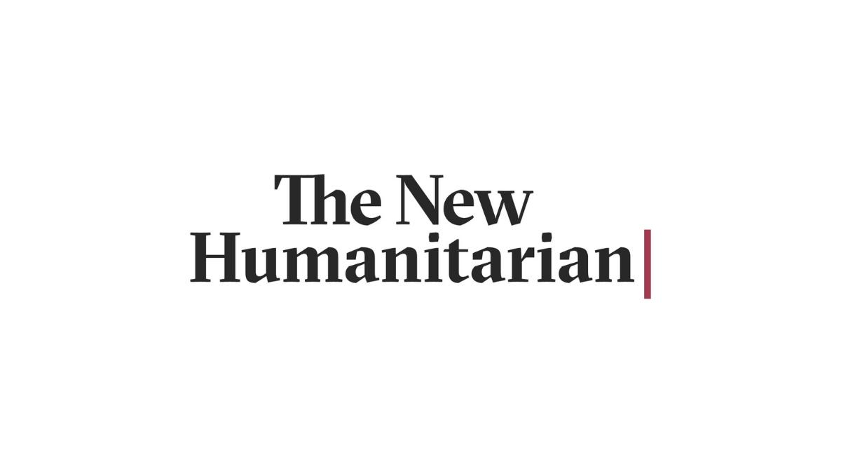 Congrats to our friends @newhumanitarian on the launch of their new brand!