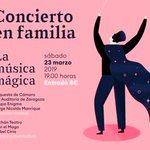 Image for the Tweet beginning: El Auditorio de Zaragoza acoge