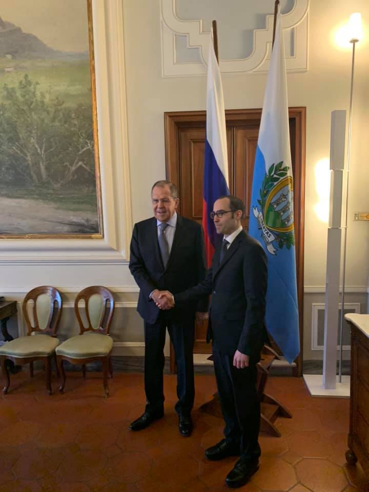 FM Sergey #Lavrov&#39;s first visit to San Marino has begun #Russia #SanMarino <br>http://pic.twitter.com/t9dtadEYKj