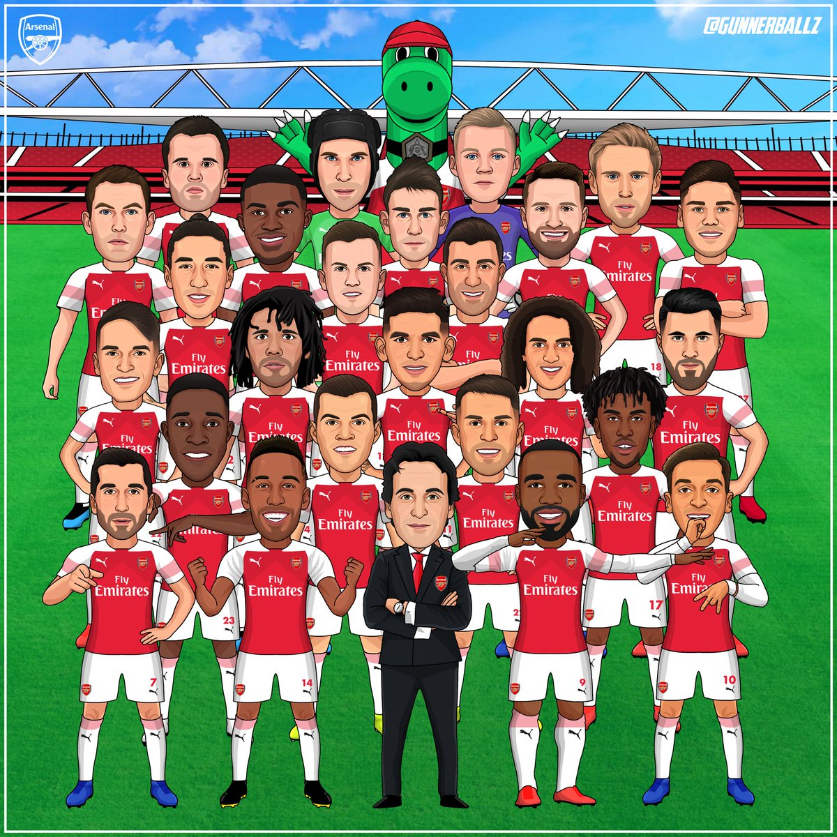 We Are The Arsenal.   Likes and retweets greatly appreciated. #arsenal #afc #aubameyang #ozil #lacazette #puma #coyg <br>http://pic.twitter.com/fF5dMRrZ7H