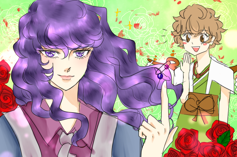 I don&#39;t know why but I always have the image that Clause looks like Oscar from The Rose Of Versailles #Len_en_art #連縁<br>http://pic.twitter.com/OjopQFg6mO
