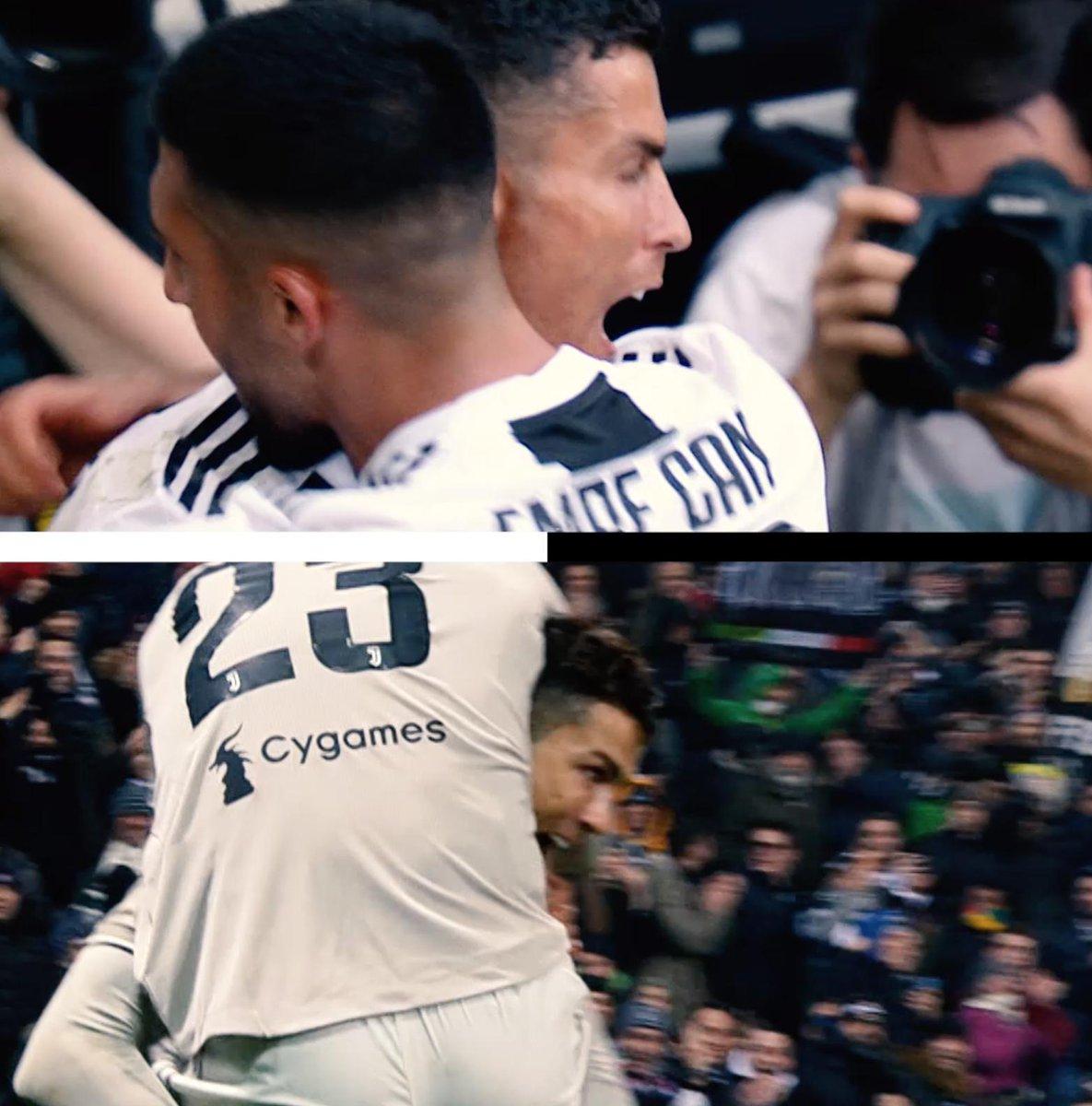 Emre Can ➡ Cristiano Ronaldo = ⚽ Cristiano Ronaldo ➡ Emre Can = ⚽ Notate qualche somiglianza all'andata e al ritorno con il Sassuolo? #ThrowBackThursday #TBT