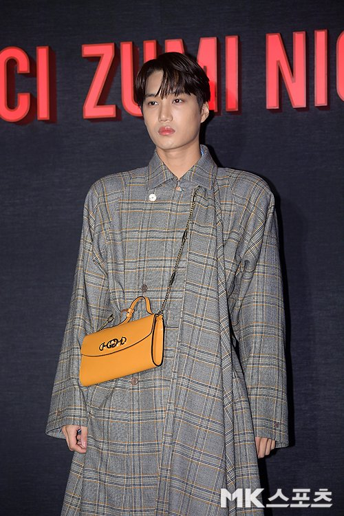 RT @exo_schedules: + 190321 GUCCI ZUMI NIGHT [#KAI]  #EXO #weareoneEXO @weareoneEXO https://t.co/3HeTH2m1PW