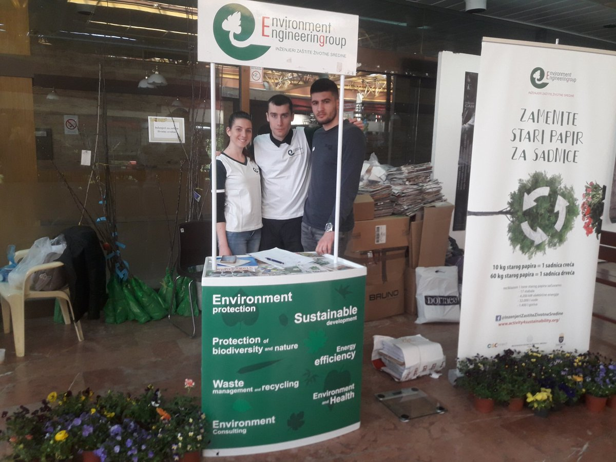 test Twitter Media - Zameni papir za sadnice na standu @InzenjeriZZS na #NovosadskoProlece #Spens od 21-23.03.2019. 10 kg papira = 1 sadnica cveca, 60 kg papira = 1 sadnica drveca. Hvala na podrsci vrednim volonterima i @ekostarpakrs @PGVojvodine @pokretgorana #RajskiVrt @opens2019 @novisad2021 https://t.co/HaWcy6adUI