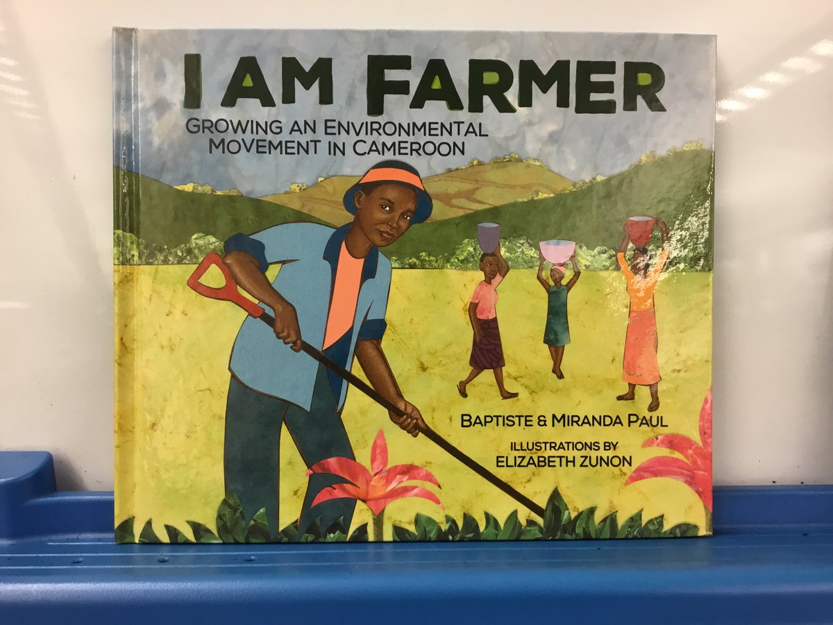 Oakridge welcomes Baptiste &amp; Miranda Paul, authors of the book I Am Farmer, Growing an Environmental Movement in Cameroon. We can't wait to meet special guest Farmer Tantoh—the real life hero of this book. Thank you Oakridge PTA for sponsoring this event.⁦<a target='_blank' href='http://twitter.com/APSLibrarians'>@APSLibrarians</a>⁩ <a target='_blank' href='https://t.co/Tf7L0BkUVT'>https://t.co/Tf7L0BkUVT</a>