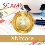 Image for the Tweet beginning: New scam?   XBITCORE is a