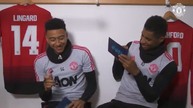 Who wants @JesseLingard's dance moves? 🕺 What can't @MarcusRashford live without? 🤔 And what goes on in @JesseLingard's 'strange mind'? 🤪