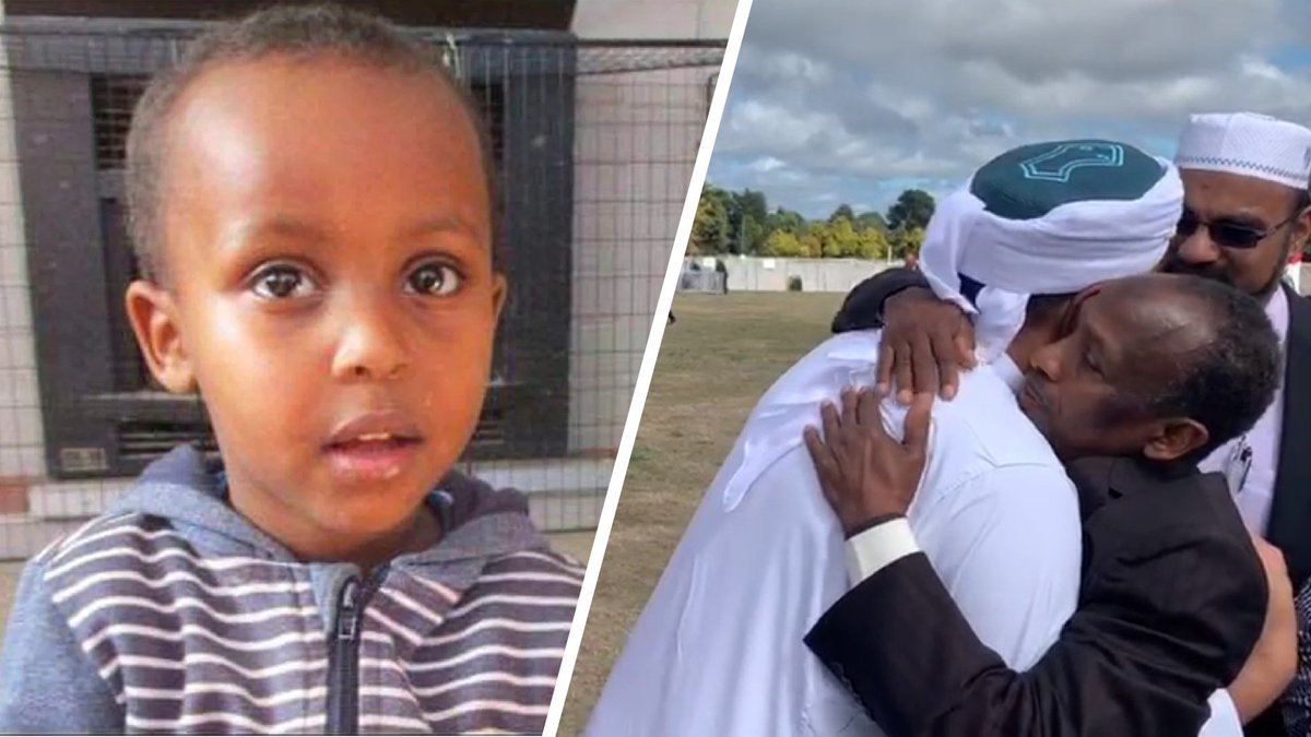 Mufti Zeeyad Ravat met the father of 3-year-old Mucad Ibrahim who was killed in the #Christchurch terror attack. He requested for the shaykh to tell the world about his son.  Credit: Pillars of Guidance Community Centre