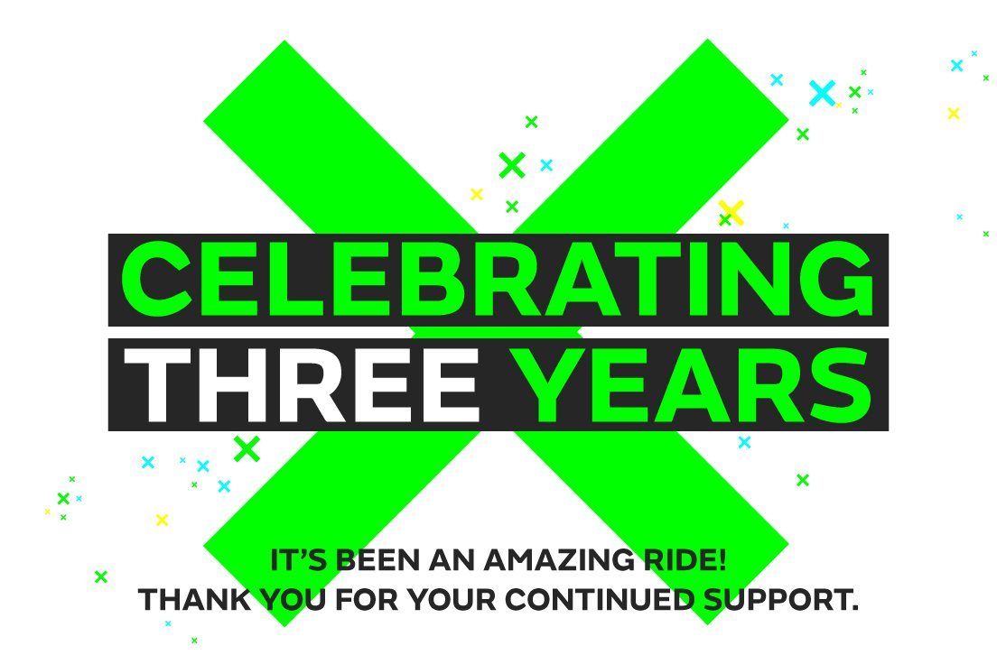 Setting out in 2016 seems like yesterday... Now we're celebrating our 3rd birthday! Along the way we've had the opportunity to work with some amazing people, creating some truly awesome work in the digital experiential space. #business #immersive #interactive #vr #ar #exhibitions