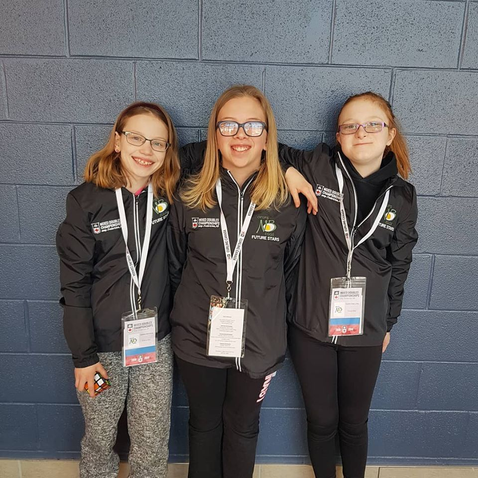 We are so excited to be the title sponsor of the Egg Farmers Future Stars in Fredericton for the @CurlingCanada Mixed Doubles Championships at Willie O&#39;Ree. The smiles on the kids faces says it all #CMDCC2019<br>http://pic.twitter.com/zZIagt11Mr