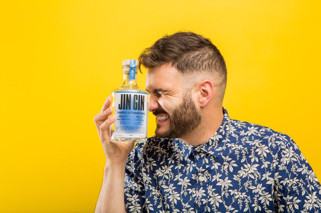 I launched my own gin and it's called #JinGin ... it's available at all premium bottle stores and all 3 flavors are delicious! Let me know when you grab a bottle by tagging me in your pictures 😬