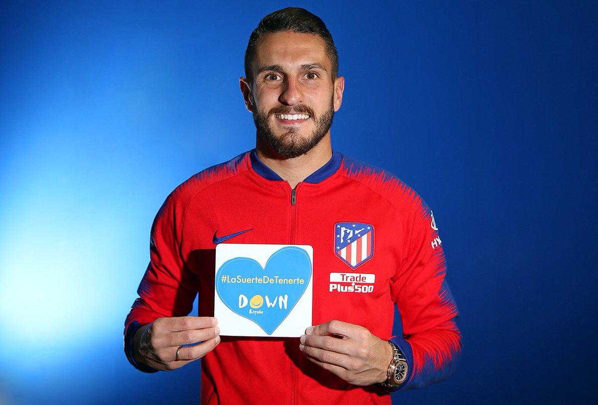 El Atlético de Madrid, a través de su Fundación, se suma a la campaña #LaSuerteDeTenerte en el #DiaMundialdelSindromedeDown ➡ http://ow.ly/NwdC30o8h4E