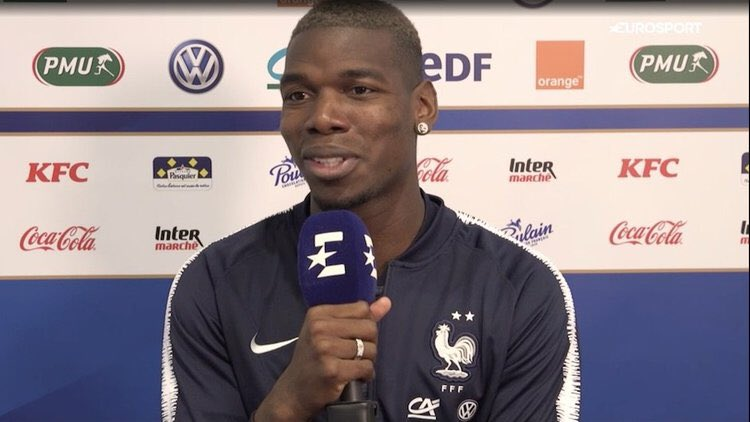 """Paul Pogba (Manchester United): """"Barça is the best team in the world."""""""